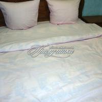Комплект постельного белья, бязь розовое
