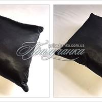 Подушка декоративная черная