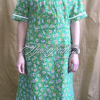 Платье ситец с рукавом