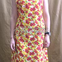 Платье ситц. без рукава