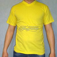 Трикотажные изделия Футболка трикотажная, х/б 100%, желтая