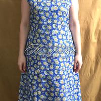 Халаты и платья Платье ситц. без рукава