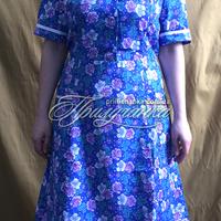 Платье ситц. с рукавом