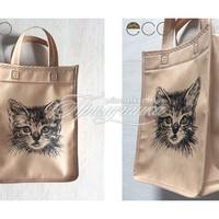 Эко сумки с рисунком - Эко сумка с рисунком, спанбонд