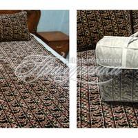 Шерстяные одеяла и покрывала - Набор. Покрывало и подушки. Шерсть жаккард