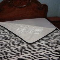 Одеяло шерстяное жаккардовое