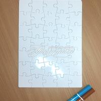 Сувенирные пазлы - Сувенирный пазл А4 20х28,5 см. 35 эл.