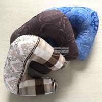 Подушки и одеяла - Дорожная подушка-подголовник бязь