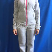 Трикотажные изделия Спортивный костюм, х/б 100%, серый