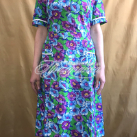 Халаты и платья - Платье ситц. с рукавом