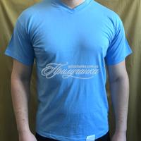 Трикотажные изделия - Футболка трикотажная, х/б 100%, синяя