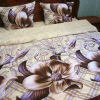 Постельное белье - Комплект постельного белья, бязь люкс