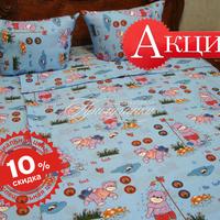 - Комплект постельного белья, бязь облегченная