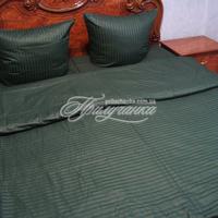 Постельное белье - Комплект постельного белья, страйп-сатин