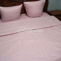Постельное белье Комплект постельного белья, страйп-сатин
