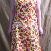 Халаты и платья - Сарафан ситц. без пуговиц